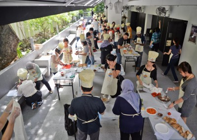 Cooking Event organised by Big Fun Kitchen (31 March 2015)